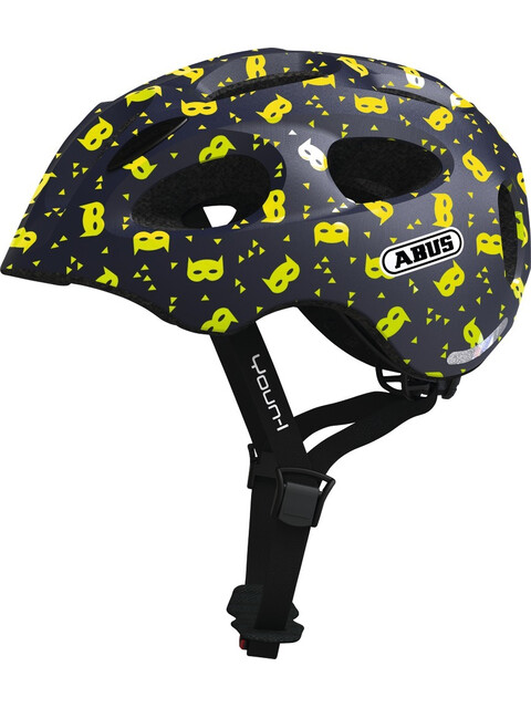 ABUS Youn-I Helmet Kids blue mask